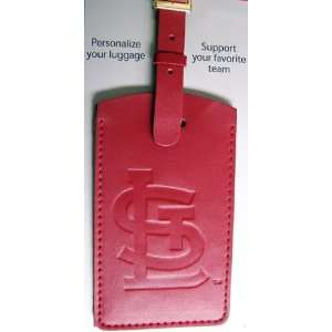 St Louis Cardinals   MLB Embossed Leather Bag Tag Sports