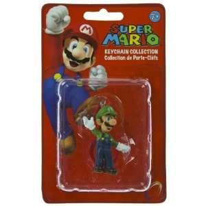 Luigi (~2) Super Mario Mini Figure Keychain Collection