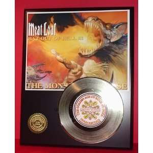 Gold Record Outlet MEAT LOAF 24kt Gold Record Display LTD