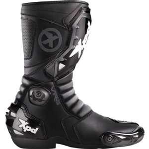 Spidi VR6 Mens Street Racing Motorcycle Boots   Black
