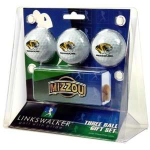 Missouri Tigers MIZZOU MU NCAA Slider Hat Clip 3 Golf Ball