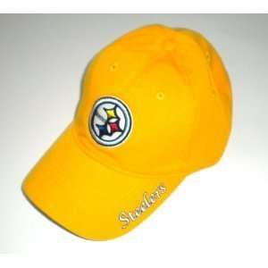 NFL Pittsburgh Steelers Classic Yellow Hat Cap Lid Sports
