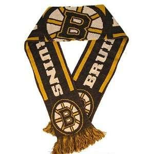 Boston BRUINS NHL Hockey Team KNIT SCARF New Gift Sports