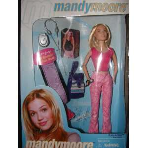Mandy Moore 12 Doll   Pink Top and Pants Toys & Games