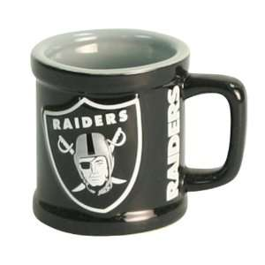 com Oakland Raiders Ceramic Shot Glass with Handle Sports & Outdoors