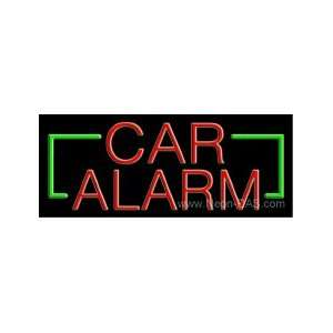 Car Alarm Outdoor Neon Sign 13 x 32 Sports & Outdoors
