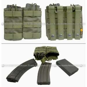 Pantac MOLLE Dual Universal Mag Pouch (RG / Cordura)