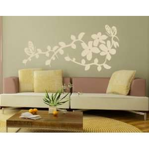 China Flower   Vinyl Wall Decal