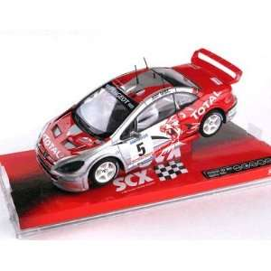 32 Peugeot 307 Rally WRC Total, Analog (Slot Cars) Toys & Games