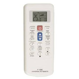 Plastic Shell LCD Display Universal Air Conditioner Remote Control