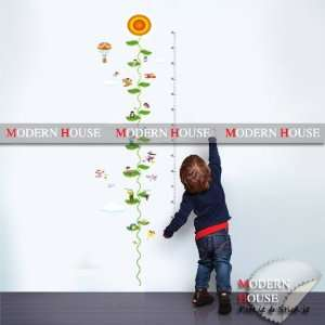 Height Measurement removable Vinyl Mural Art Wall Sticker Wall Decal