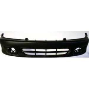 Cavalier Z24 Primed Black Replacement Front Bumper Cover Automotive