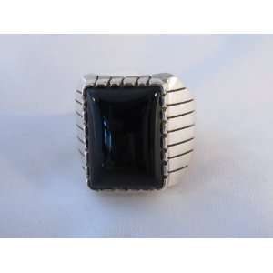 Native American Mens Ring Sterling Silver Navajo Ring Size