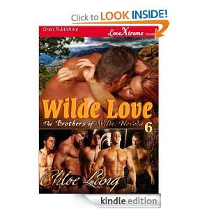 Wilde Love [The Brothers of Wilde, Nevada 6 Conclusion] (Siren