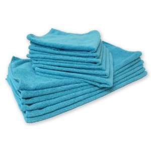 MaximMart Microfiber Cleaning Cloths 16 X 16   250 Pack