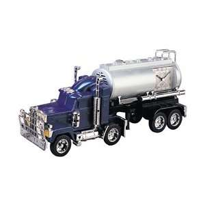 Oil Tanker Tracter and Removable Trailer Alarm Clock