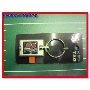 Tampa Bay Bucs Buccaneers Flash Light Up Key Chain/Ring
