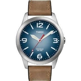 Timex Mens T2N631KW Weekender Classic Casual Brown Strap Watch