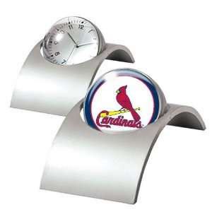 St. Louis Cardinals MLB Spinning Desk Clock  Sports