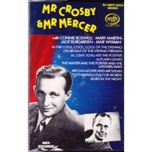 Mr. Crosby & Mr. Mercer (Audio Cassette) Music