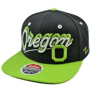 Green Flat Bill Snapback Original Zephyr Hat Cap