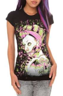 Too Fast Zombie Bat Girls T Shirt Clothing