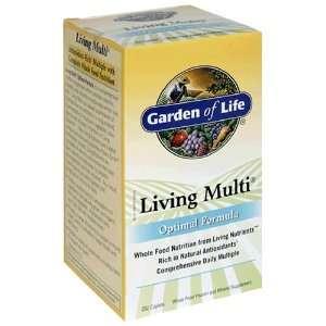 Garden of Life Living Multi Optimal Formula, Caplets, 252