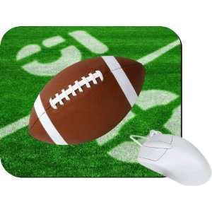 Rikki Knight Football 50 Yard Line Mouse Pad Mousepad   Ideal Gift for