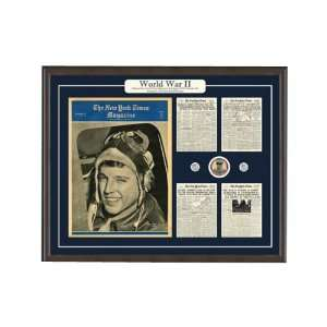 World War 2 Artifacts New York Times Framed Art Kitchen