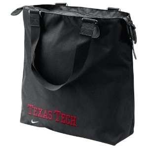 Nike Texas Tech Red Raiders Black Core Tote Bag Sports