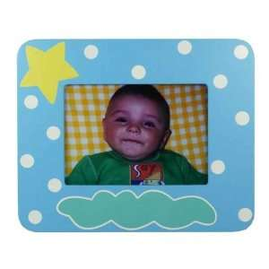 Baby Tatutina Wood Adorably Designed Blue Boy Picture Frame: Baby