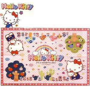 Hello Kitty Design Picnic Mat (Size 22 X 34)