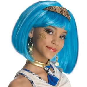 Lets Party By Rubies Costumes Mummys Dearest Wig (Child) / Blue   One