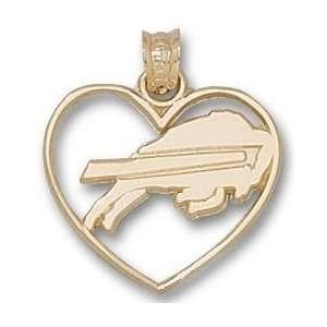 Buffalo Bills New Buffalo Heart Charm/Pendant Sports