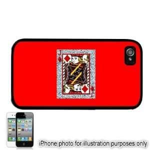 Jack of Diamonds Poker Card Photo Apple iPhone 4 4S Case