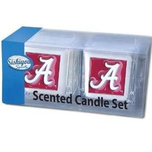 NCAA Alabama Crimson Tide Candle Set