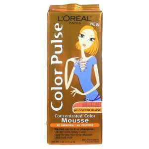 Color Pulse By Loreal, Concentrated Non Permanent Hair Color Mousse