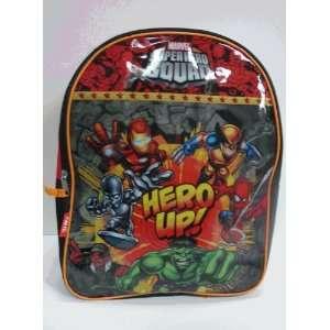 Marvel Super Hero Squad Backpack   Hero Up  Toys & Games