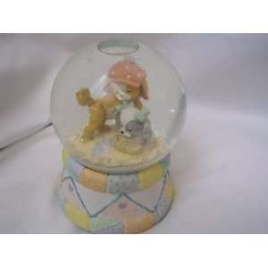 Dog Puppy Water Snow Globe 6 Collectible ; How Much is that Doggie in