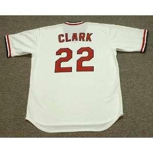 JACK CLARK St. Louis Cardinals 1985 Majestic Cooperstown