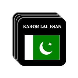 Pakistan   KAROR LAL ESAN Set of 4 Mini Mousepad