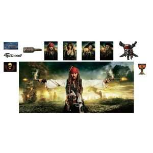 Pirates of the Caribbean On Stranger Tides Mural Wall Graphic