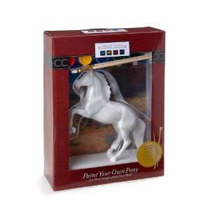 Trail of Painted Ponies Paint Your Own Horse Rearing Pose Figurine 8 1