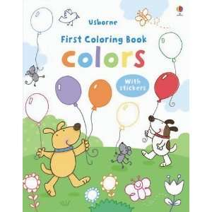 Colors Sticker Coloring Book (First Sticker Coloring Books