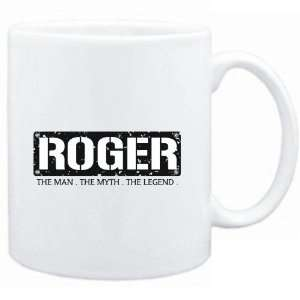 Mug White  Roger  THE MAN   THE MYTH   THE LEGEND  Male Names