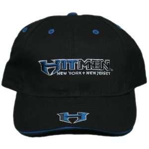 3D Embroidered New York + New Jersey Hitmen Adjustable Velcro Back Cap