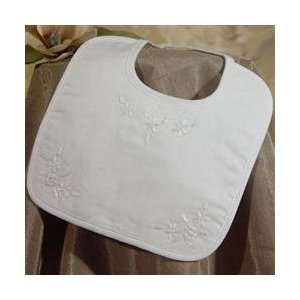 Little Things Mean Alot Cotton Embroidered Bib Baby