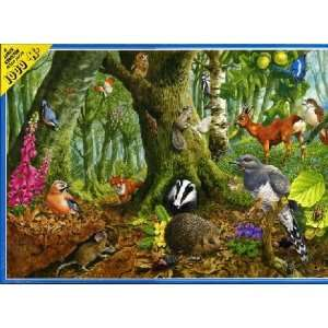 Woodland Sanctuary Jigsaw Puzzle 1000pc Toys & Games