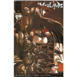Warlands The Age of Ice #3 October 2001 Pat Lee and