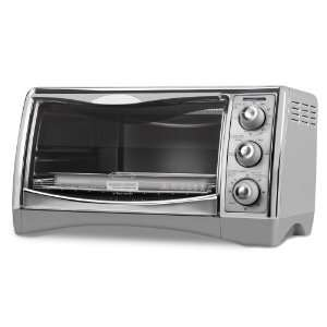 Black & Decker CTO4500S 6 Slice CounterTop Convection Oven with Pizza